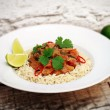 Przepis na Warzywa po afrykańsku z sosem orzechowym