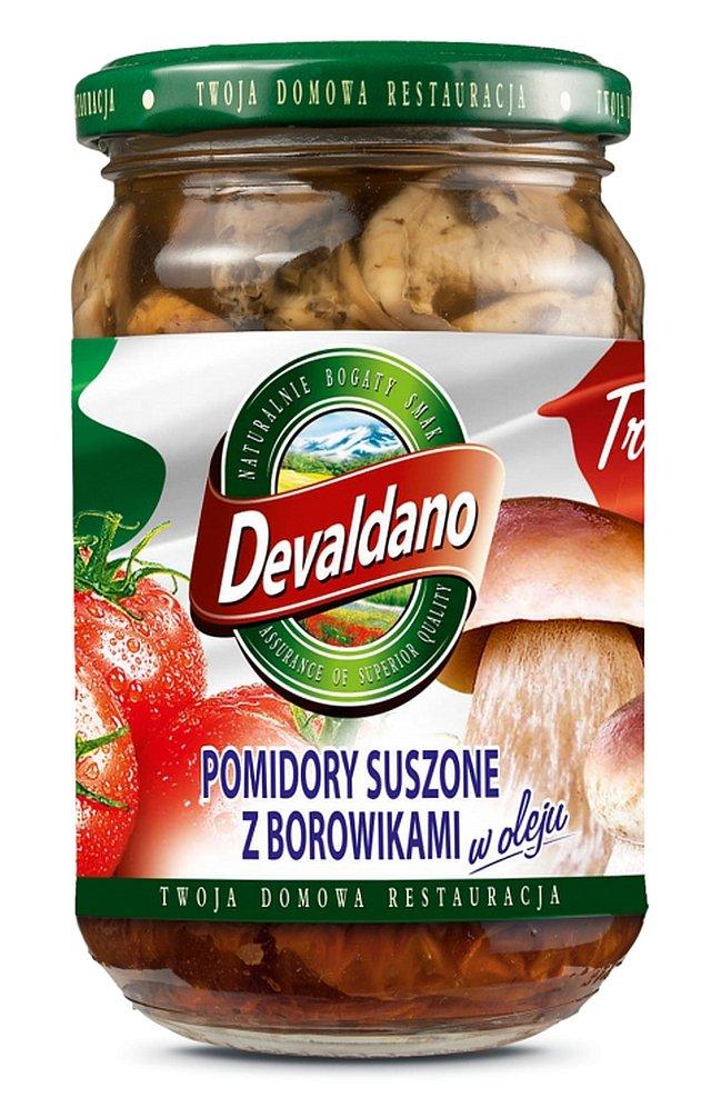 Pomidory suszone z borowikami w oleju