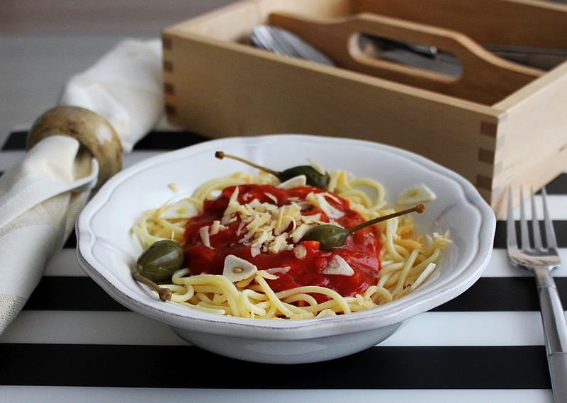 Przepis na aromatyczne spaghetti z pieczarkami