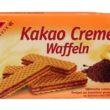 Bezglutenowe Wafelki z kremem kakaowym