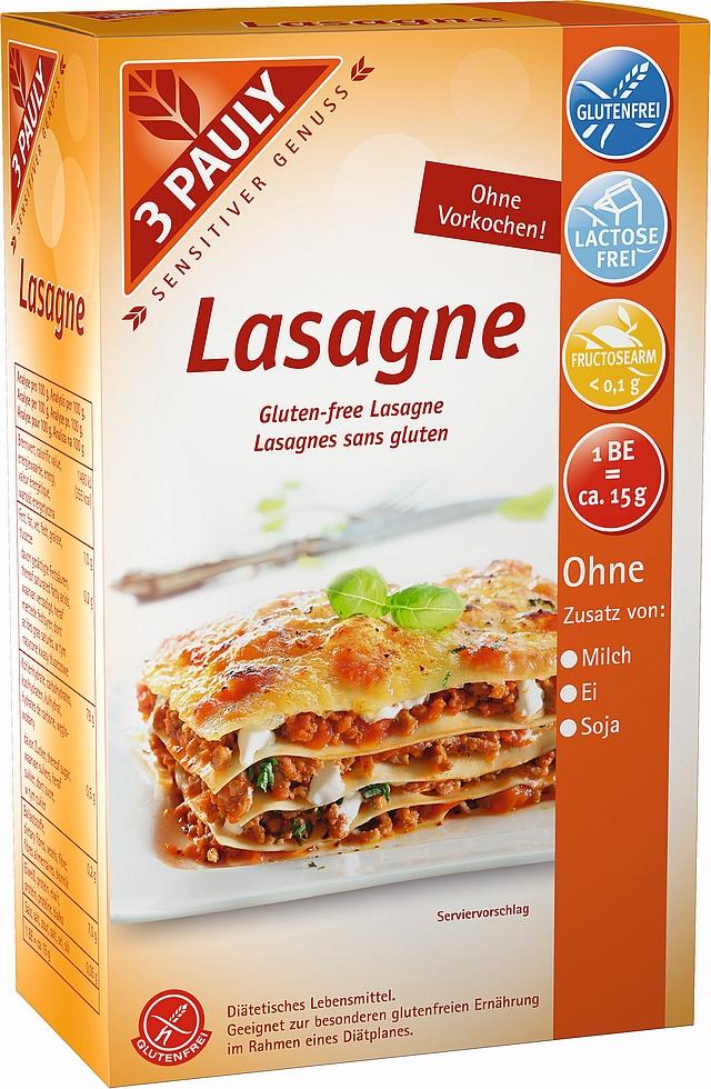 Bezglutenowy makaron lasagne