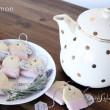 Pyszne ciasteczka w kształcie torebki herbacianej