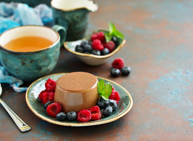 Pyszne desery z herbatą