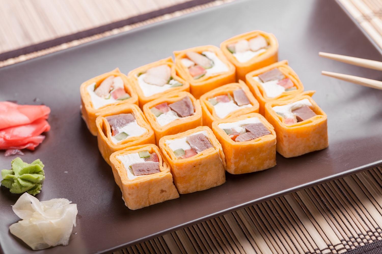 Sushitilla, czyli kombinacja tortilli i sushi