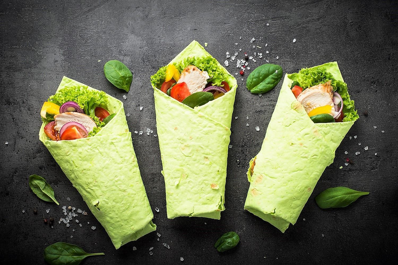 Kolorowe tortille na pierwszy dzień wiosny
