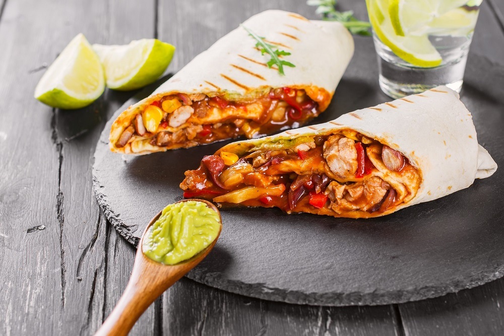 Azjatycki twist – teriyaki burrito