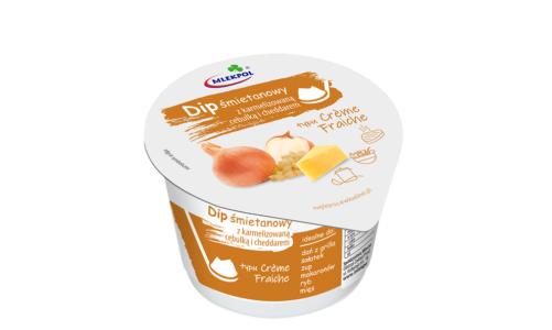 Dipy śmietanowe typu crème fraiche to nowoczesna i oryginalna nowość