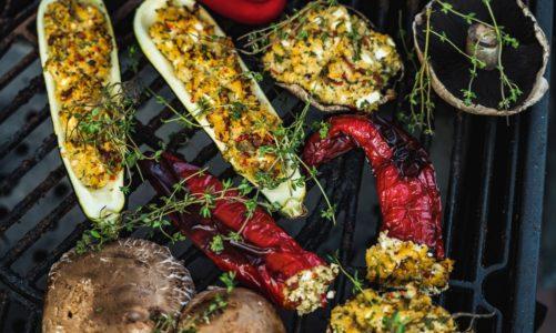 Grillowane warzywa z kaszą jaglaną BIO